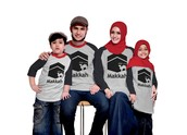 KaosDhikr.com: Kaos Muslim Keluarga - Kaos Muslim Anak