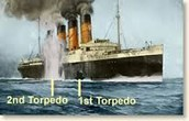 Where the torpedoes landed