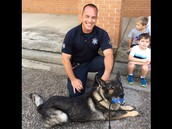 Officer Hinz and & His Partner