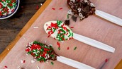 Holiday Recipe! Chocolate Spoons!