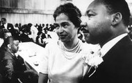 Martin Luther King.Jr with Rosa Parks