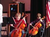 Winter Concert - Instruments