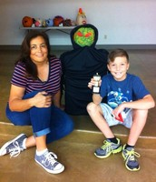 Literary Pumpkin Decorating Contest Winner, Fourth Grader Jack E