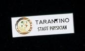 David Tarantinos Nametag