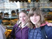 Larissa and me in Lille