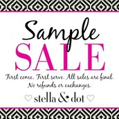 Sample Sale...EVERYTHING MUST GO!!!