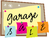 The CMS Garage Sale is This Saturday, November 14th!