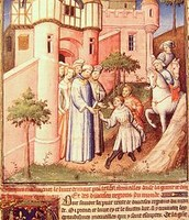 Niccolò Polo ja Maffeo Polo Konstatinoopolis aastal 1259.