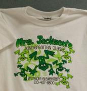 A class t-shirt sample