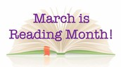 """""""MARCH MADNESS"""" Reading Month!"""
