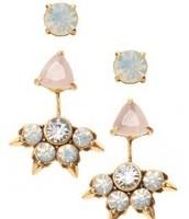 Eva ear jackets $54.  4 earrings in one