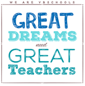 Great Schools need Great Teachers!