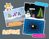 Scratch-Get Creative with Coding (Ages 8+)