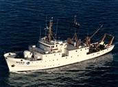 NOAA research vessel
