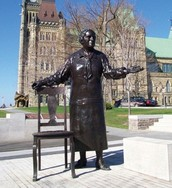 Statue of Emily Murphy at Parliament Hill