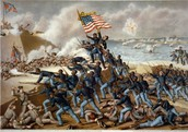 Taking over Fort Wagner