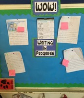 Writing in Progress: Displaying Student Work