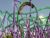 We got really crazy coasters that will scare you to death!
