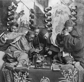 The Smoking of Opium (Ancient China)