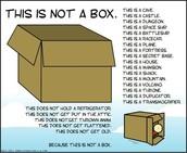Definetly not a box !