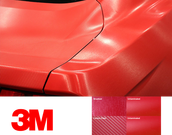 3M 8900 Carbon Fiber/ Brushed Over Laminating Films