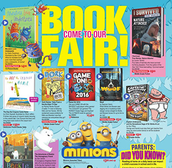 Shop the Book Fair before the PTO meeting