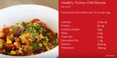Healthy Turkey Chili Recipe VIDEO
