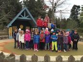 Mrs. Coover's Kindergarten Classes at the Morton Arboretum