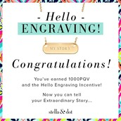Earners of the Hello Engraveable Necklace (April Challenge)