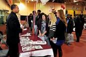 What is a college fair?