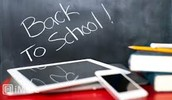 Back To School Nights:  September 9 & 16   Begins in Homeroom at 7pm