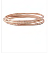 Rhea Rose Gold Bangles  Reg $79 ~ Sale $30
