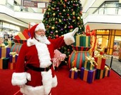 Training for beginner and experienced shopping mall Santas.