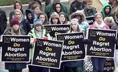Women Do Regret Aborions