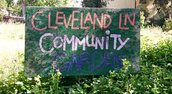 Cleveland and the Community Garden!!!