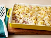 Baked Rigatoni with Bechamel Sauce