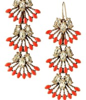 SOLD -  Coral Cay Earrings