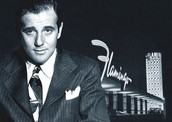 The Flamingo Hotel and Casino was the start of his notorious gambling operation in Las Vegas.