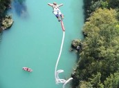 Our company does the highest bungee jump in the world