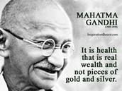 About Gandhi
