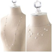 The DEMI layering necklace $40 (Retail: $59)