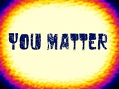Encourage students by writing about them on the You Matter Wall!