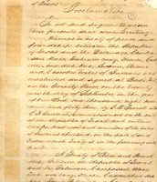 Peace Treaty Between American Indians and The Republic of Texas