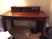 Sturdy Wooden Desk - £100