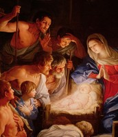 The Visit of the Shepherds to Baby Jesus