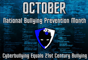 October is anti-bullying month!!!