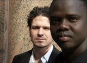 Achak Deng and Dave Eggers