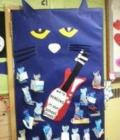 Door Decorating- Pete the Cat Style!