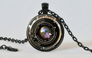 Vintage Camera Lens Neclace
