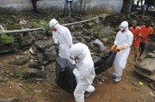 Ebola is taking over Africa doctors come and help us!